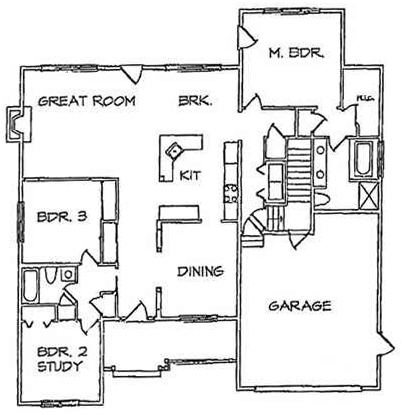 Franklin Floorplan