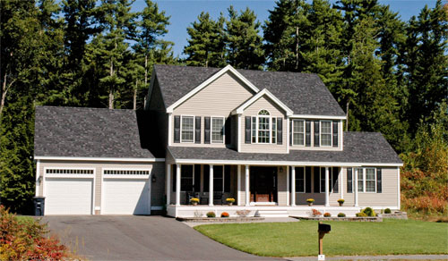 Lincoln Colonial from NH new home builder, White Birch Builders of Merrimack